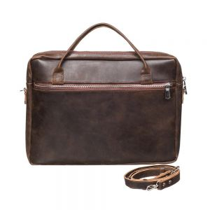 Mens brown shoulder bag