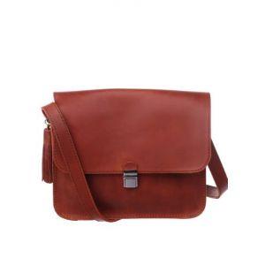 Brown shoulder purse