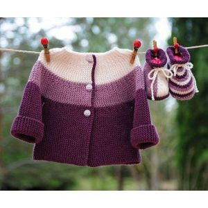 Infant sweater set