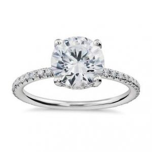 Ladies diamond ring 0.450 carat