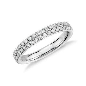 Gold diamond wedding ring 0.330 carat