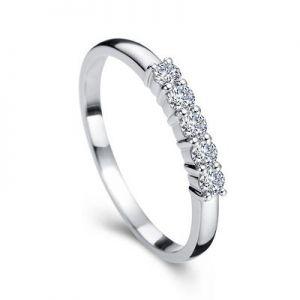 5 diamond eternity ring