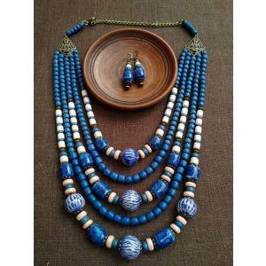 Chunky bead necklace