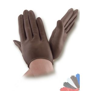 Womens leather driving gloves