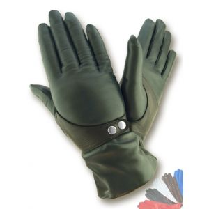 Ladies lined leather gloves