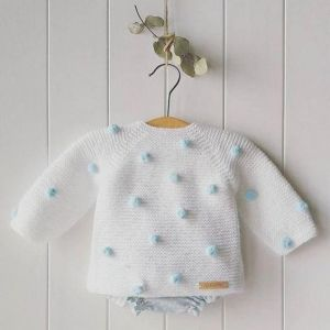 "Infant crochet pullover ""Tenderness"""