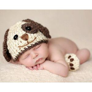 Newborn crochet photo outfit