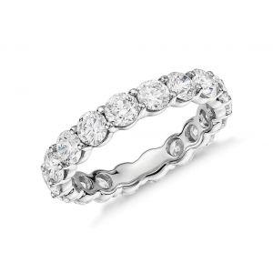 Diamond single row eternity ring