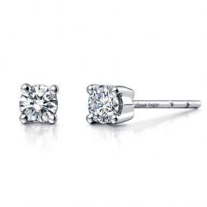 Beautiful diamond stud earrings