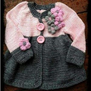Infant girl cardigan