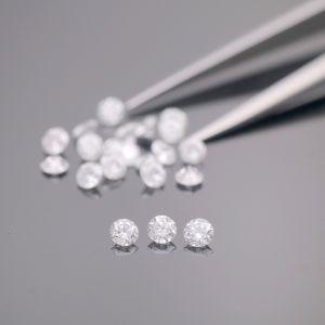 Натуральные калиброванные бриллианты 2 мм, цвет 3 (G), чистота 5 (SI1). 207 штук