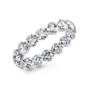 Diamond eternity ring for women