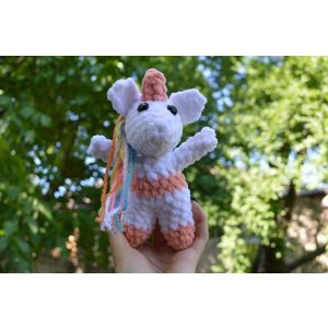 Crochet toy Small Unicorn