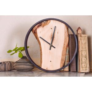 Wooden Round Wall Clock