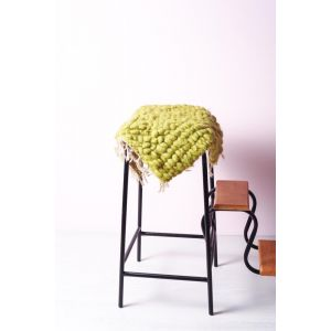 Soft woven chair cushion