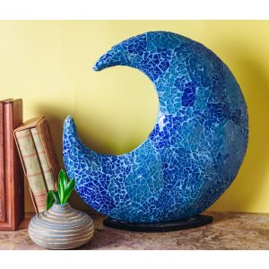 Mosaic moon Lamp