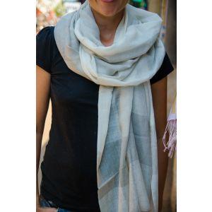 Baby blue wedding shawl