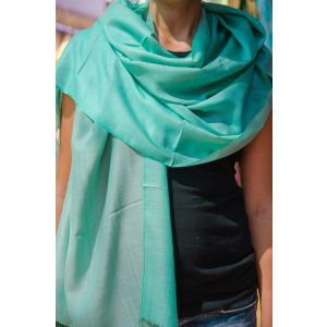 Turquoise wrap scarf