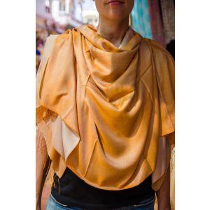 Mustard pashmina scarf