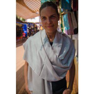 Ashen pashmina shawl