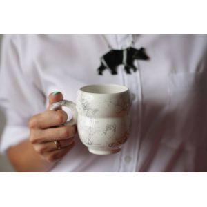 Designer's bubbles cup