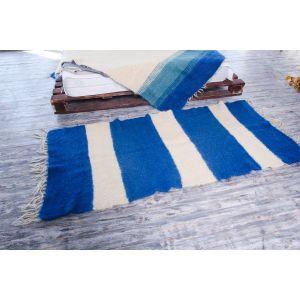 Hand woven nautical rug