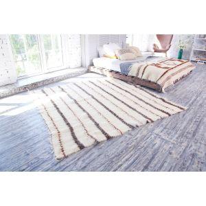 White living room area rug