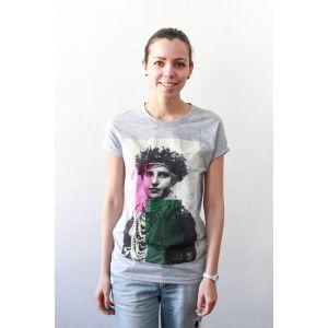 """Woman T-shirt """"Bridesmaid""""."""