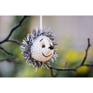 Crochet toy Hedgehog