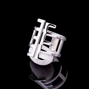 Modern statement ring