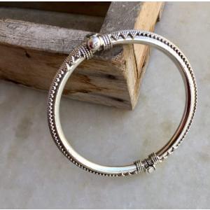 Sterling silver Indian bracelet