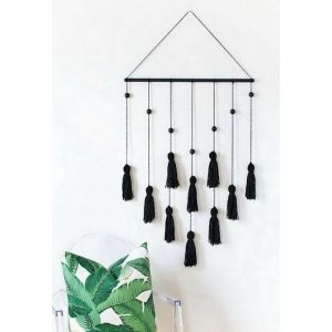 Tassel wall hanging decor