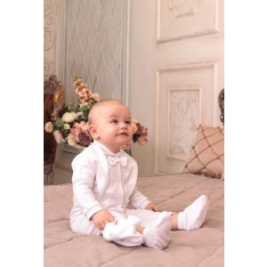 "Cotton baby boy suit ""Glory"""