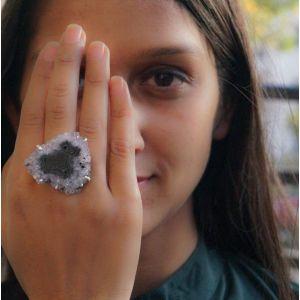Amethyst 925 silver ring
