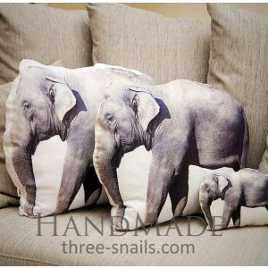 "Animal pillow ""Elephant"""