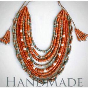 "Artisan Necklace ""Autumn"""