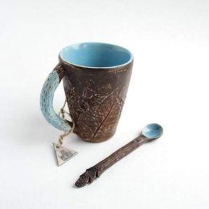 """Author's ceramic cup """"Harmony"""""""