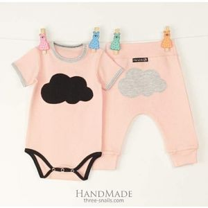 Baby body and pants Cloud