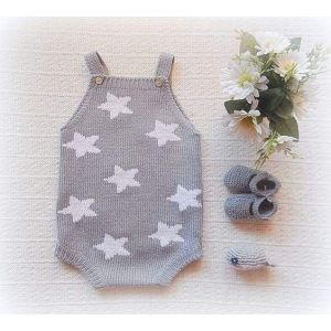 Baby bodysuit and booties