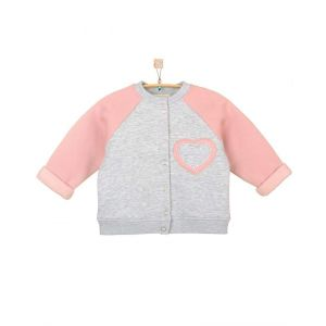 "Baby bomber jacket ""Heart"""