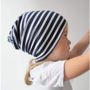 "Baby cap ""Striped trip"""