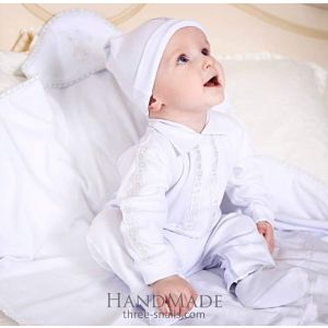 Baby clothes. Baptism boy outfit