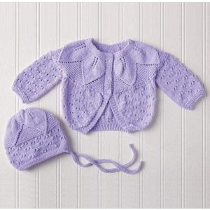 "Baby crochet outfits ""Violet"""