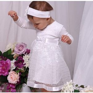 "Baby girl baptism dress ""Holiday"""
