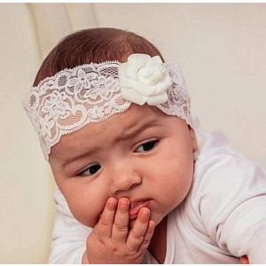 "Baby girl headband ""Flower"""