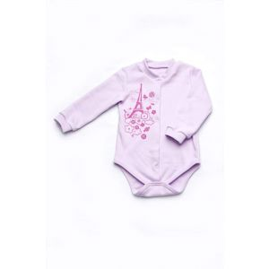 Baby girl long sleeve body suit