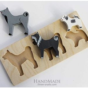 """Baby learning toys """"Dogs"""""""