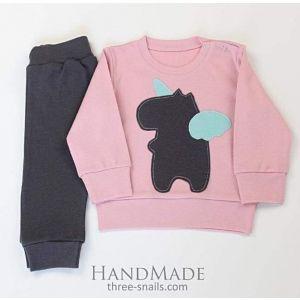 "Baby suits""Christmas unicorn"""