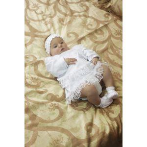 """Baptism dress for baby girl """"Flower"""""""