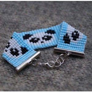 "Bead bracelets ""Panda"""